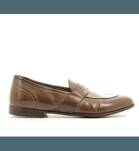 Mocassin cuir Camel AF03 - Lemargo