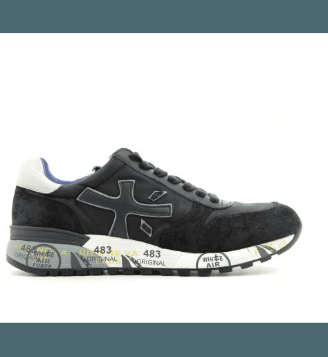 Sneakers homme en cuir noir  MICK2628- Premiata