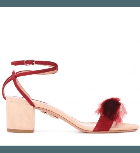 Sandales à noeuds frangés LOTUS BLOSSOM - Aquazzura