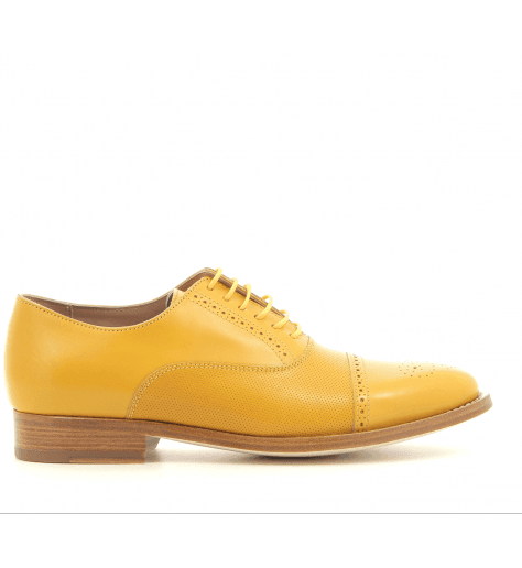 Derbies en cuir Ocre BERTIE OCRE- Paul Smith