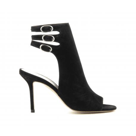 Sandales à talons noir M4789N - Premiata