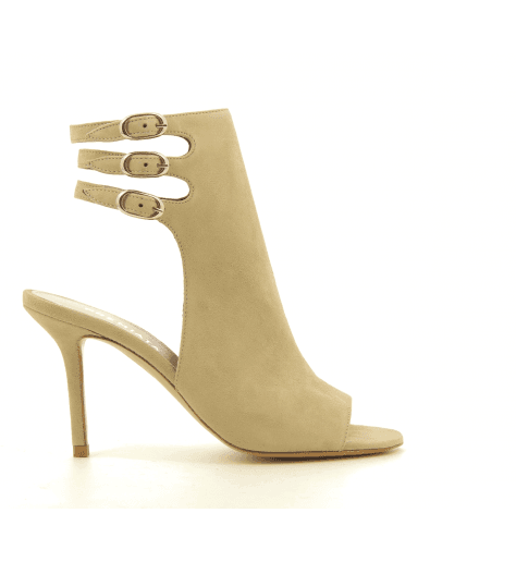 Sandales à talons nude M4789Nude - Premiata