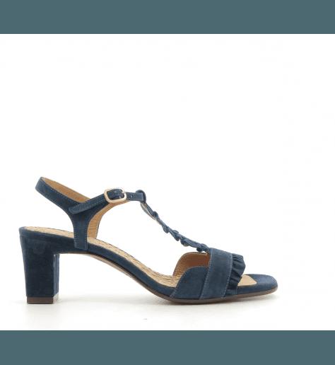 Sandales à petits talons marine LAUBO BLU- Chie Mihara
