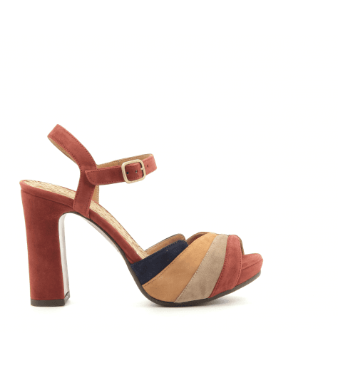 Sandales talons hauts tricolores Chie Mihara - CANDEL