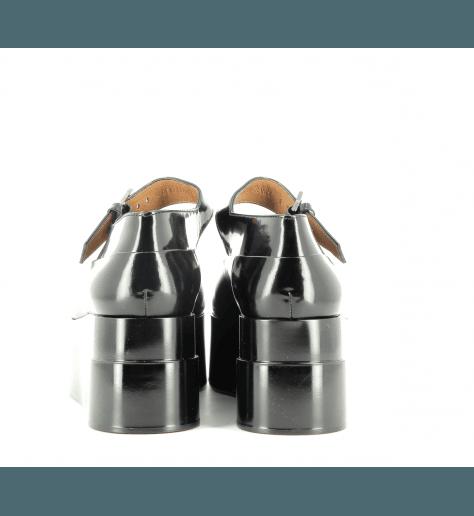 Mocassins à semelle épaisse noir  LYAM - Robert Clergerie