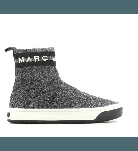 Sneakers en textile argent DART SOCK SNEAKER1 - Marc Jacobs
