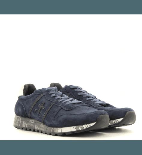 Sneakers homme en croûte marine  ERIC3293- Premiata