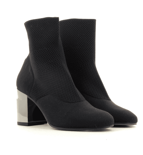 Bottines strech noir KEANE - Robert Clergerie