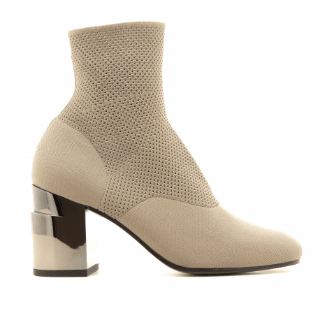 Bottines strech taupe KEANE - Robert Clergerie