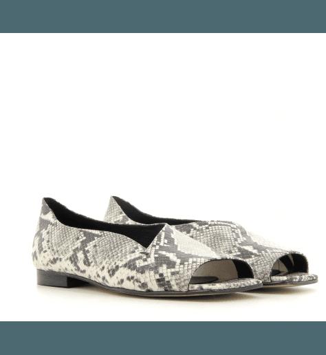 Sandales en cuir estampillé python JCA02 PYTHON - POESIE VENEZIANE