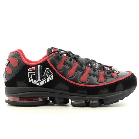 Sneakers noires MSGM X FILA Silva for men - MSGM