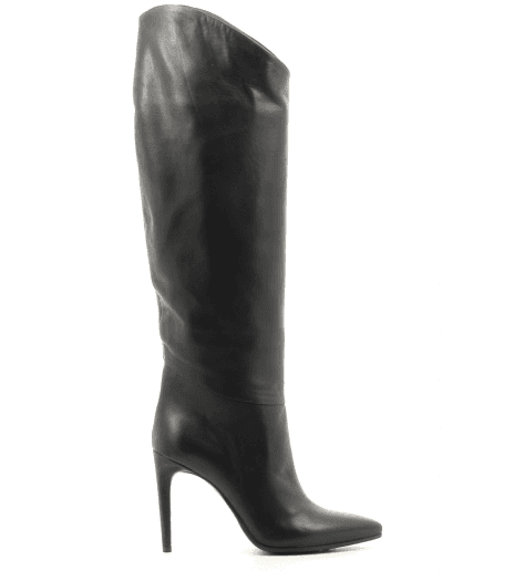 Bottes en cuir noir Garrice Collection - 5645