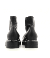 Bottines à semelle épaisse en stretch noir GreyMer - GLASS ROXY