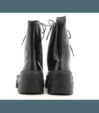 Bottines noires à lacets et semelles épaisses Vic Matie - 7826D