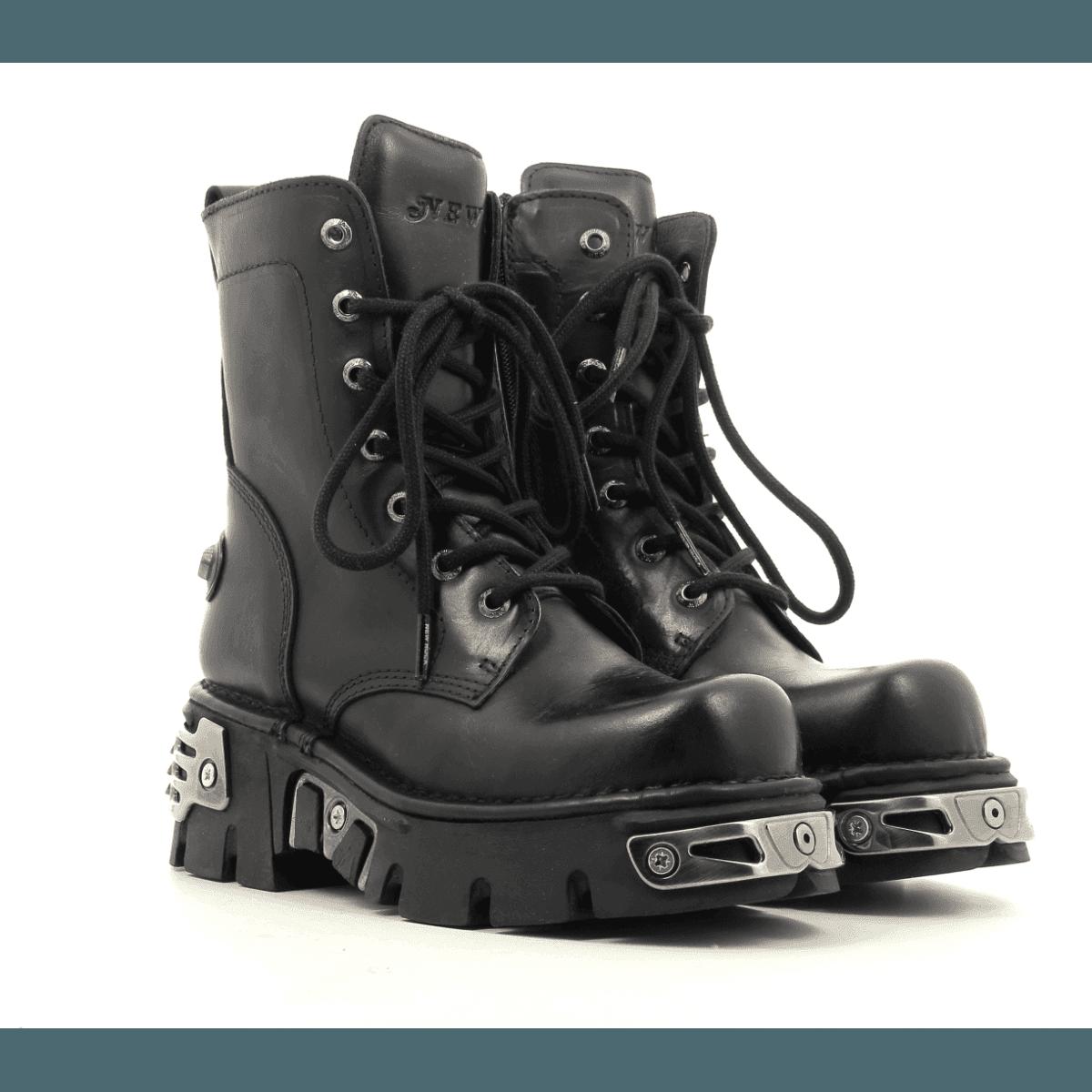 Bottines rock à semelle épaisse New Rock shoes - M563