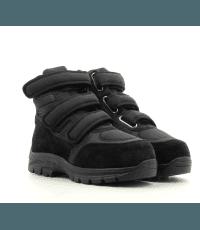 Baskets noires Velcro High Top - MM6 MAISON MARTIN MARGIELA