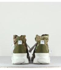 Baskets montantes - FWS34011B Militaire