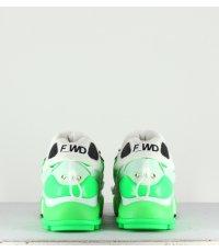 Baskets vegan à semelle épaisse - FW33032E Green