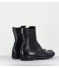 Bottines plates en cuir marines - Officine Creative