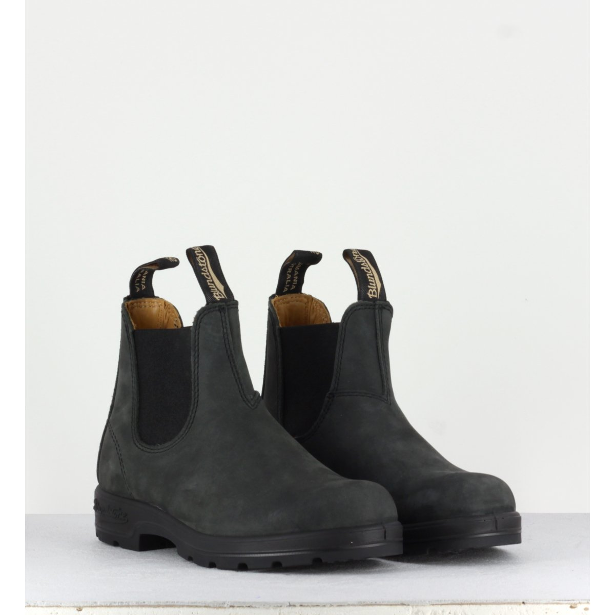 Bottines noir Blundstone  femme - CLASSIC CHELSEA BOOT 587N