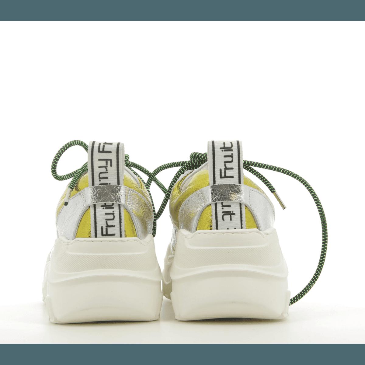 Sneakers noir à semelles épaisses blanches 5393 - Garrice collection