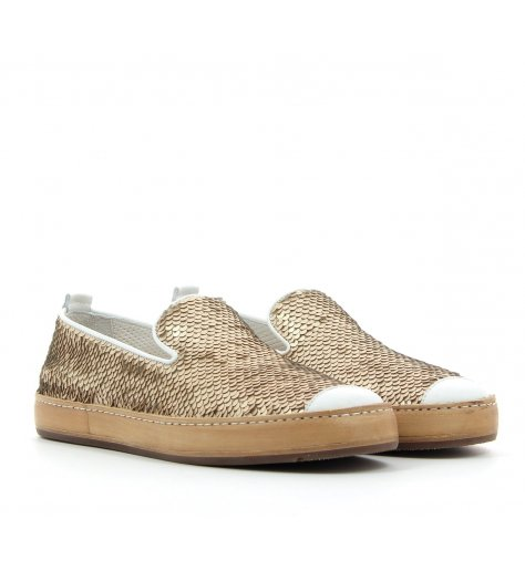 Mocassins sequins bronze - Henderson