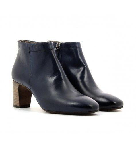 Bottines boots à talons moyens bleues - Laboratori Garbo