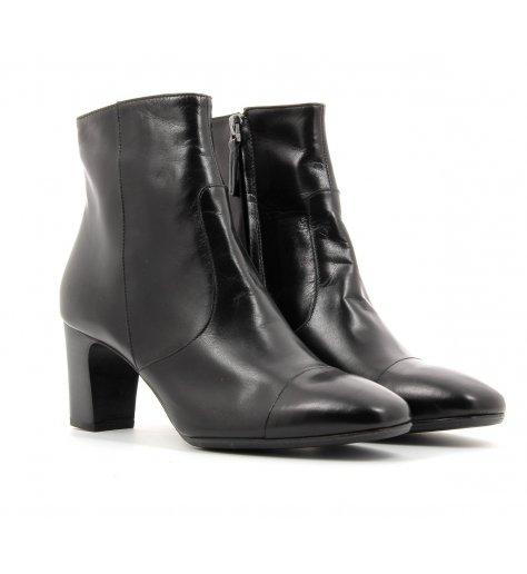Bottines boots à talons moyens noires - Laboratori Garbo