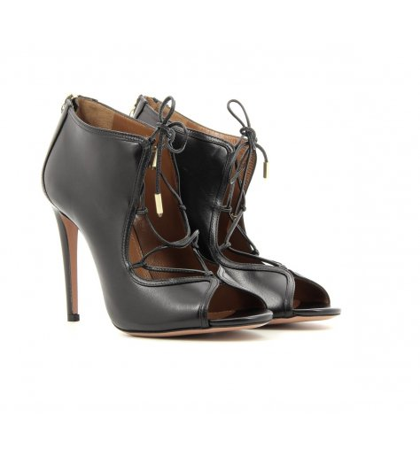 Sandales à talons avec lacets Gia Sandal 105 - Aquazzura