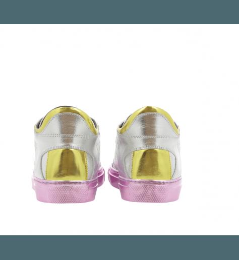 Sneakers plates metallisées - MM6 Martin Margiela S40WS0054/964