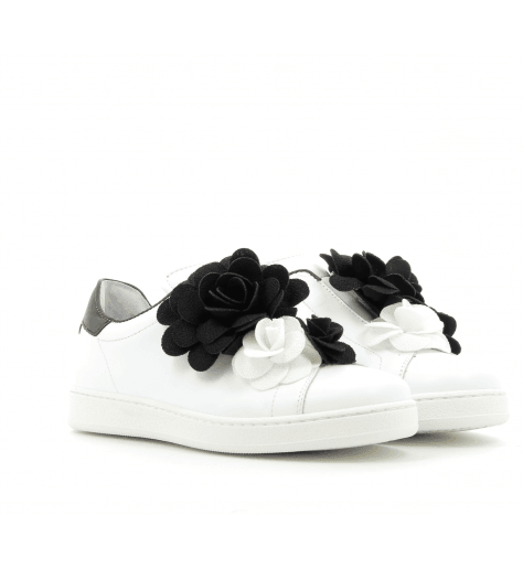 Sneakers plates blanches AURIGA1- Pokemaoke