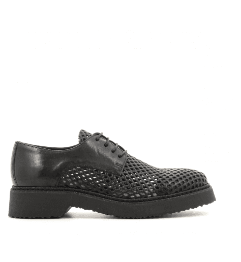 Derbies  en cuir noir 3516NOIR - Garrice Collection