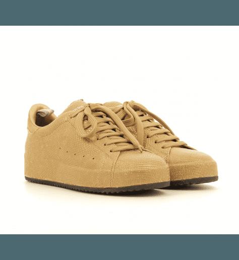 Sneakers ou baskets plates bronze ACE/101BR - Officine Créative