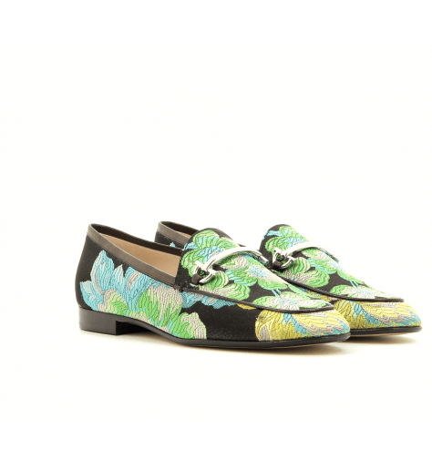 Mocassins textil multicolor  4172001MU Garrice Collection