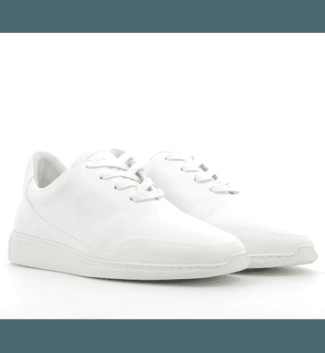 Sneakers en cuir blanc PUNTA2- Piola
