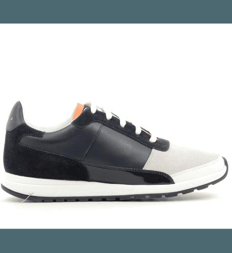 Sneakers en cuir bleuCALLAO4- Piola