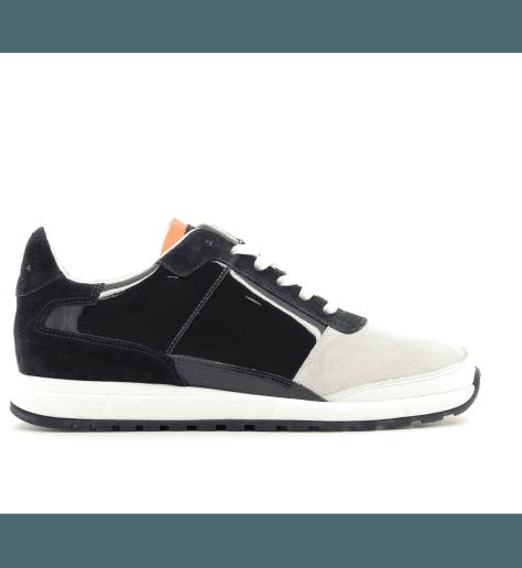 Sneakers en cuir bleu CALLAO1- Piola
