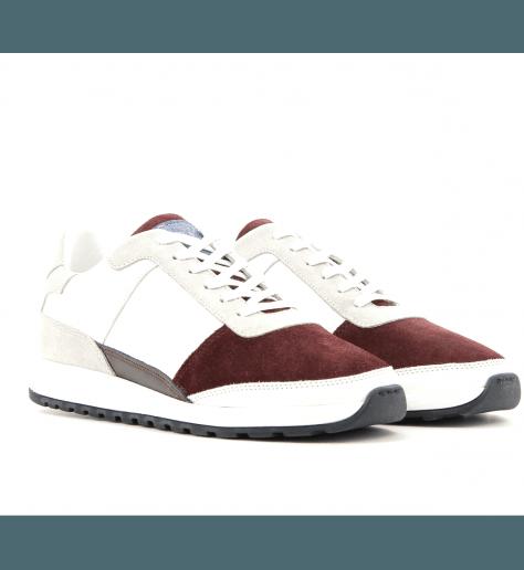 Sneakers en cuir bordeau CALLAO2- Piola