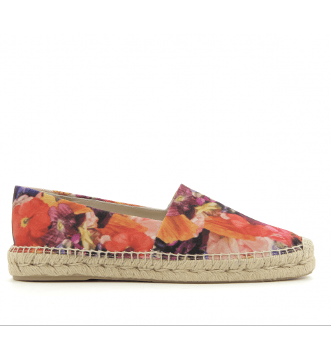 Espadrilles hommes en coton multicolore SUNNYFLOWER - Paul Smith men