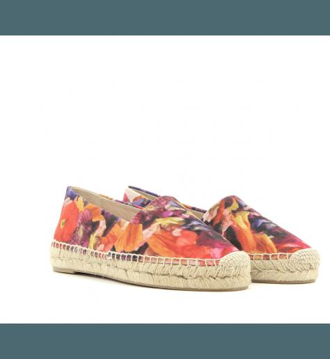 Espadrilles en coton multicolore SUNNY FLOWER - Paul Smith