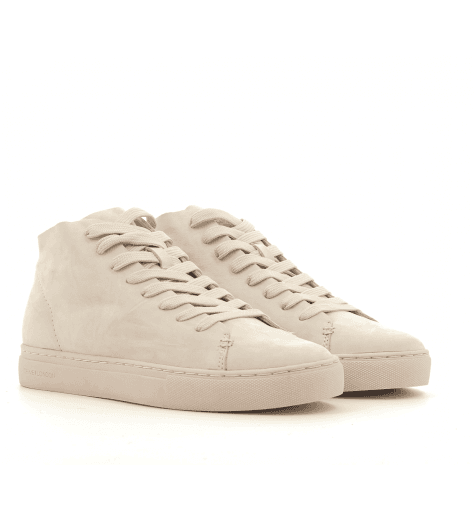 Sneakers en cuir nude 25296 - Crime London