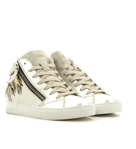 Sneakers en cuir Antracite 25323- Crime London