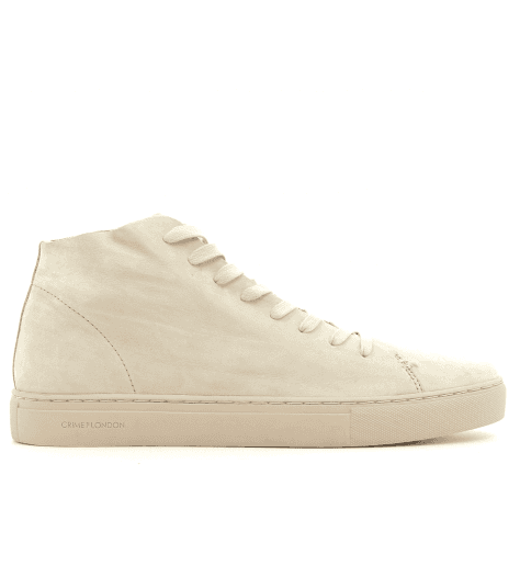 Sneakers homme en cuir nude 11292- Crime London