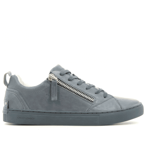 Sneakers en cuir bleu marine 11300- Crime London