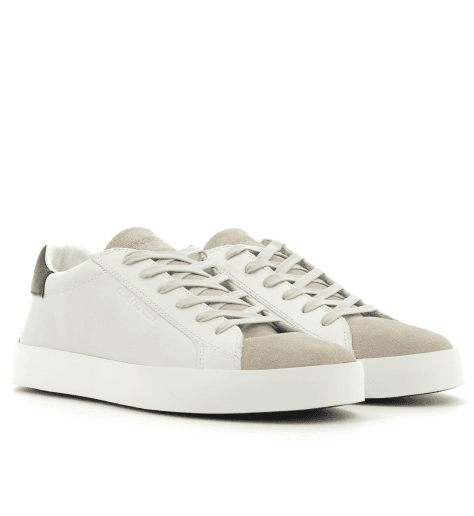 Sneakers en cuir blanc 11102- Crime London