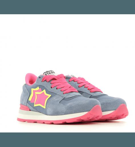 Sneakers en toile et daim VEGA BLU - Atlantic stars