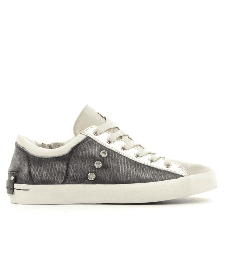 Sneakers en cuir anthracite 25005- Crime London