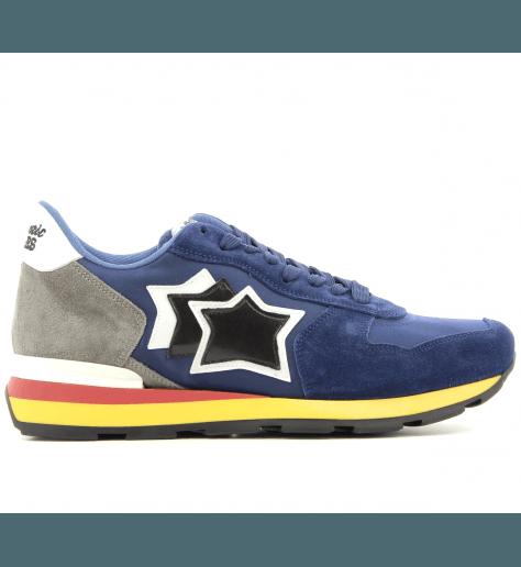 Sneakers en toile et suède pour hommes ANTAR BLU - Atlantic stars