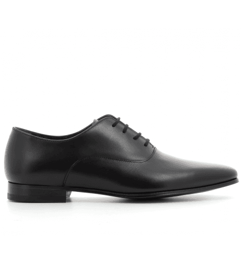 Derbies Homme en cuir noir FLEMING - Paul Smith