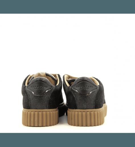 Sneakers à scratch noir et dorée MADISON08 - Serafini